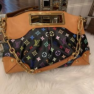 Louis Vuitton Monogram Judy MMClutch&shoulder bag